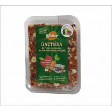 Пастила Яблоко-Морковь-Фундук-Виноград, 250 гр